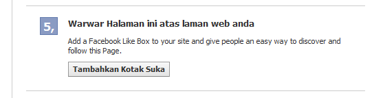 Cara Buat Like Box Facebook