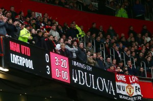 Manchester United 0 - Liverpool 3